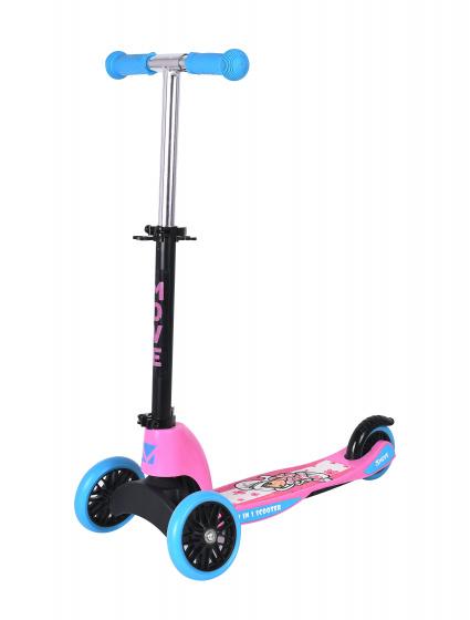 Move Flower 2-in-1 Junior Voetrem Blauw/roze online kopen