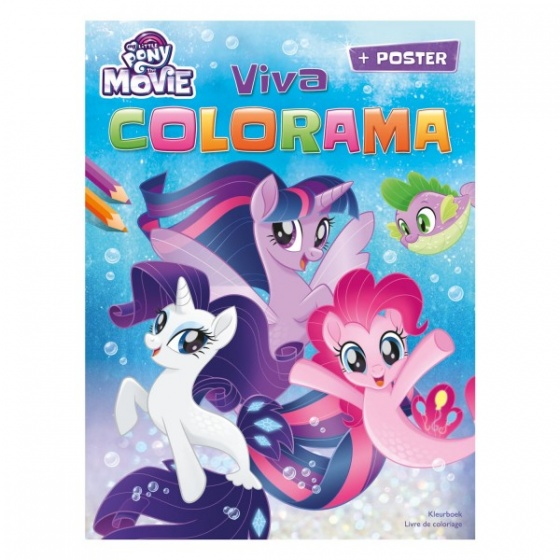 My Little Pony Color Book Viva Colorama 28 Cm