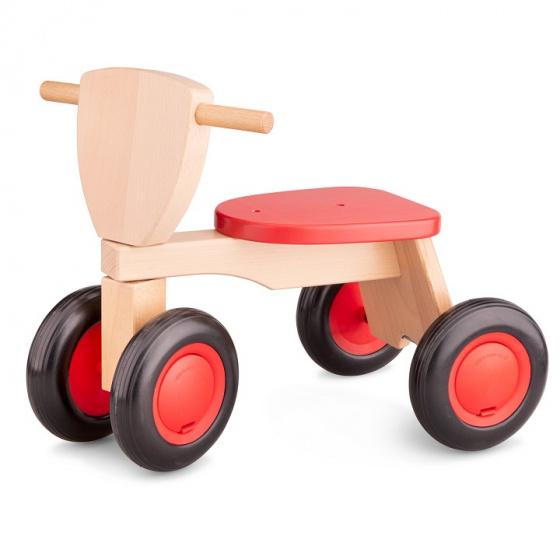 New Classic Toys Road Star Junior Vrijloop Rood/Bruin