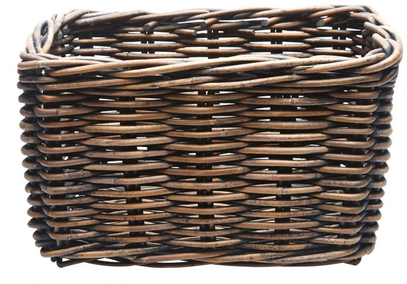 Fietsmand New Looxs Brisbane Riet Medium Bruin