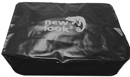 New Looxs opblaaszak voor vulling tas 5,5 liter zwart