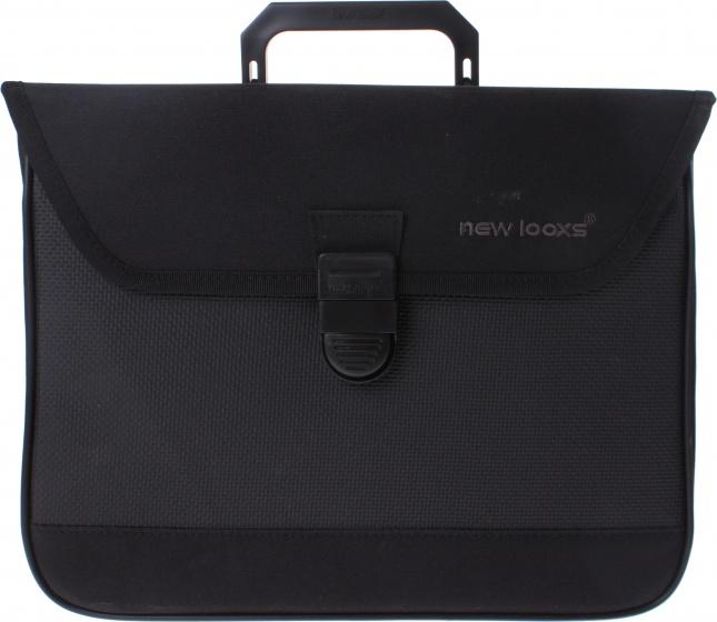 New Looxs pakaftas 13 liter zwart 36 cm