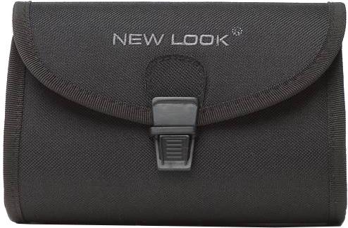 New Looxs zadeltas 1,5 liter polyester zwart