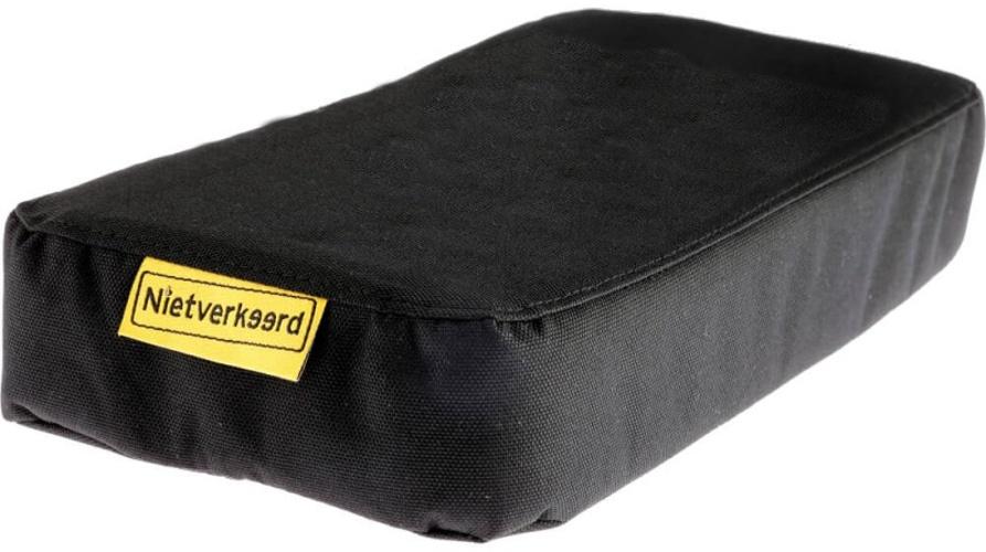 Niet Verkeerd bagagedragerkussen Dikke Pakkerd zwart 32 cm