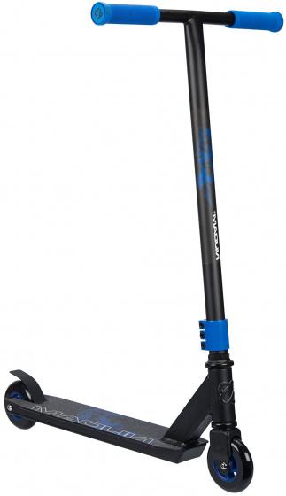 Nijdam Stuntstep Blue Smoke Unisex Voetrem Zwart/blauw online kopen