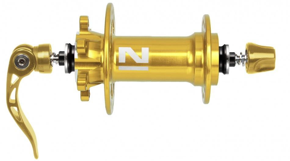 Novatec Schijfremnaaf Voor Superlight 3 in 1 32 Gaats Goud