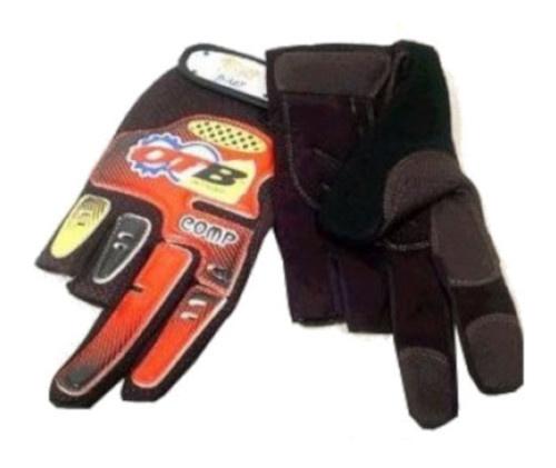 OTB Fietshandschoenen ATB unisex rood-zwart maat L