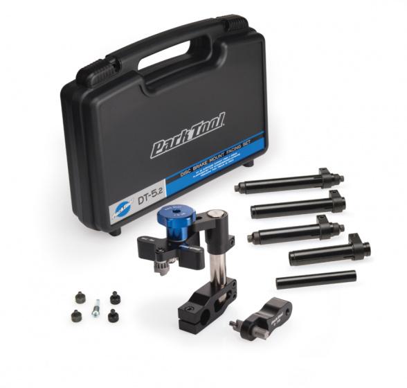 Park Tool schijfrembevestigingsset DT 5.2 staal zwart/blauw