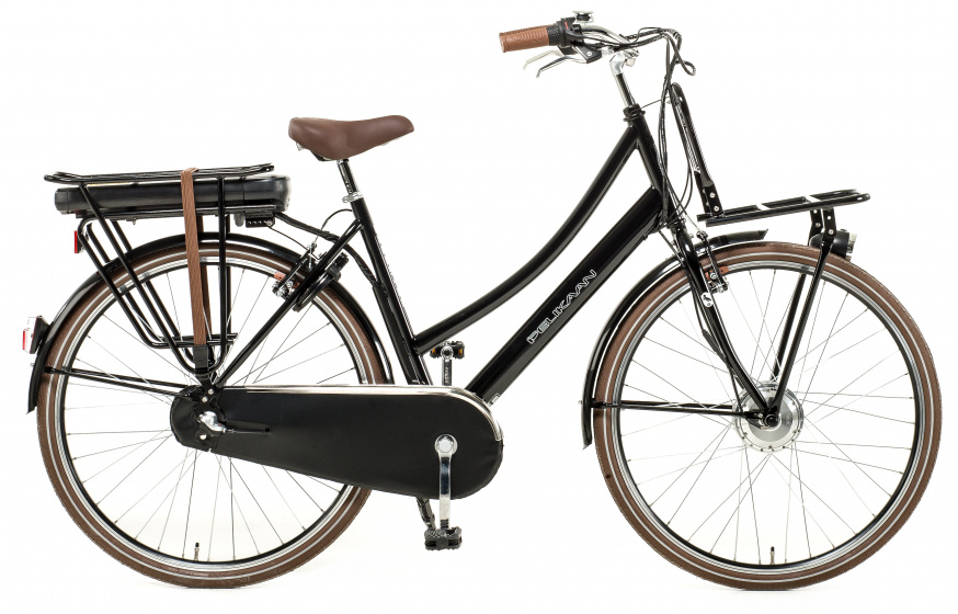 Pelikaan Carry On Lady 28 Inch 53 cm Dames 3V V Brakes Zwart