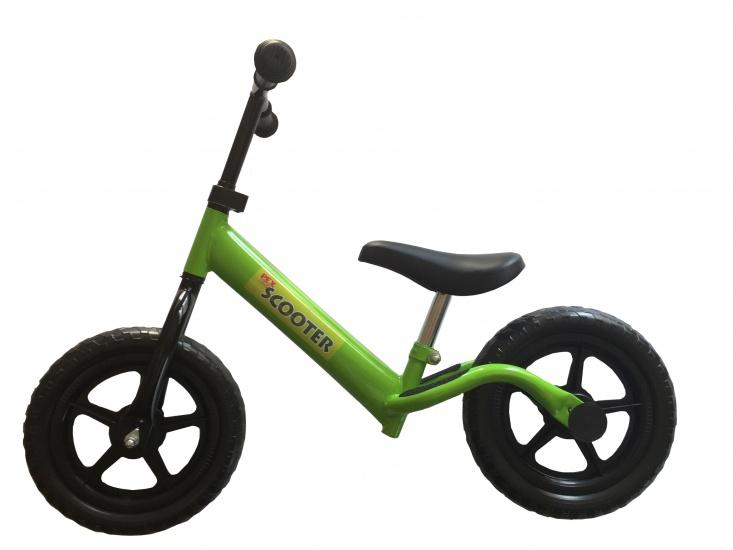 Pexkids Kinder Scooter Loopfiets 12 Inch Jongens Groen