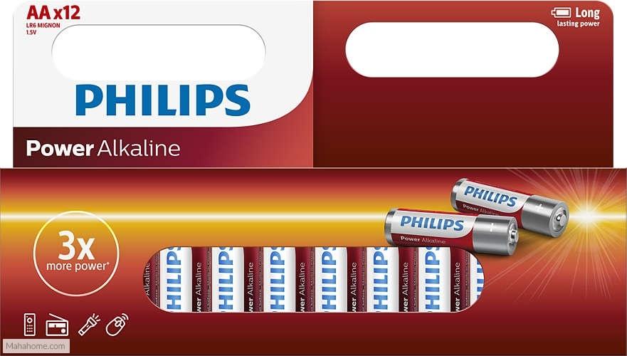 Philips Powerlife AA-batterijen set 12 stuks
