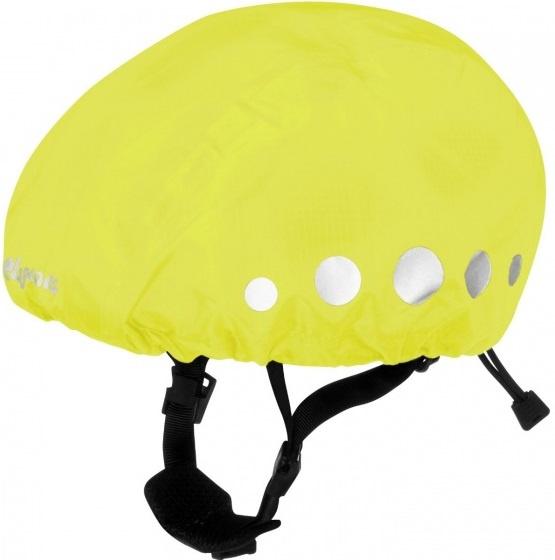Playshoes regenhoes fietshelm polyester geel maat M