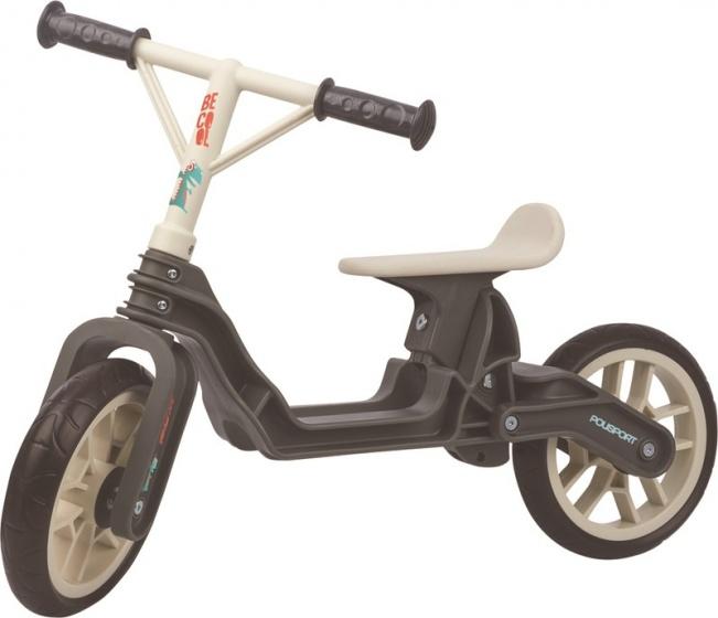 Polisport Balanca Bike loopfiets 10 Inch Junior Donkergrijs/Cr�me