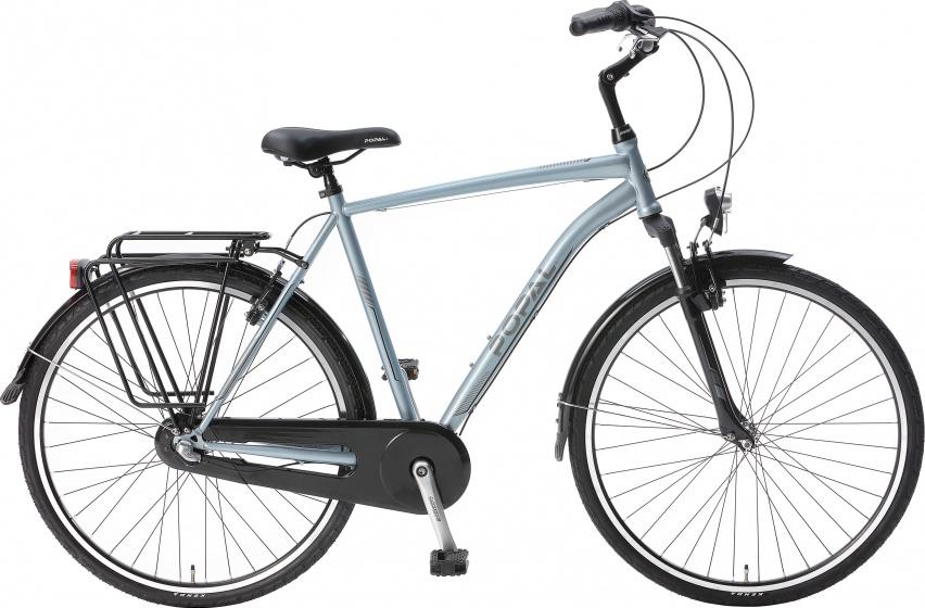 Popal Cityflex 28 Inch 57 Cm Heren 3v V-brakes Blauw online kopen