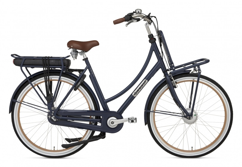 Popal Prestige E 28 Inch 50 cm Dames 3V Rollerbrake Donkerblauw