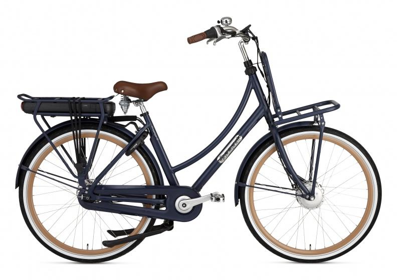 Popal Prestige E 28 Inch 50 cm Dames 7V Rollerbrake Donkerblauw