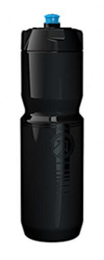 Pro sportbidon Team 0,8 liter PVC 7,4 cm zwart