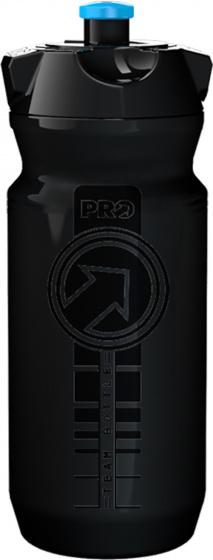 Pro sportbidon Team 600 ml polyetheen zwart