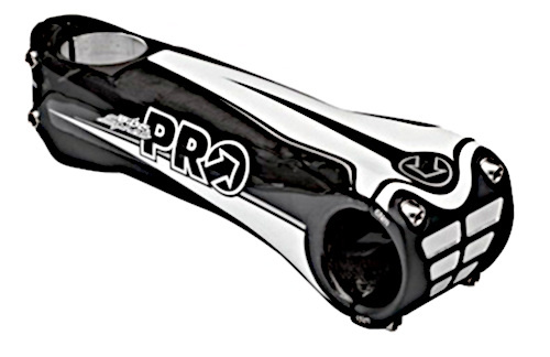 Pro stuurpen Vibe Sprint 105 mm carbon 10° zwart