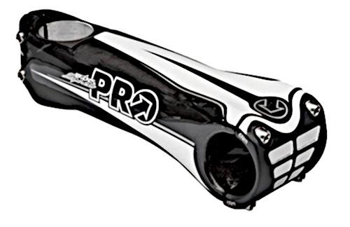 Pro stuurpen Vibe Sprint 135 mm carbon 10° zwart