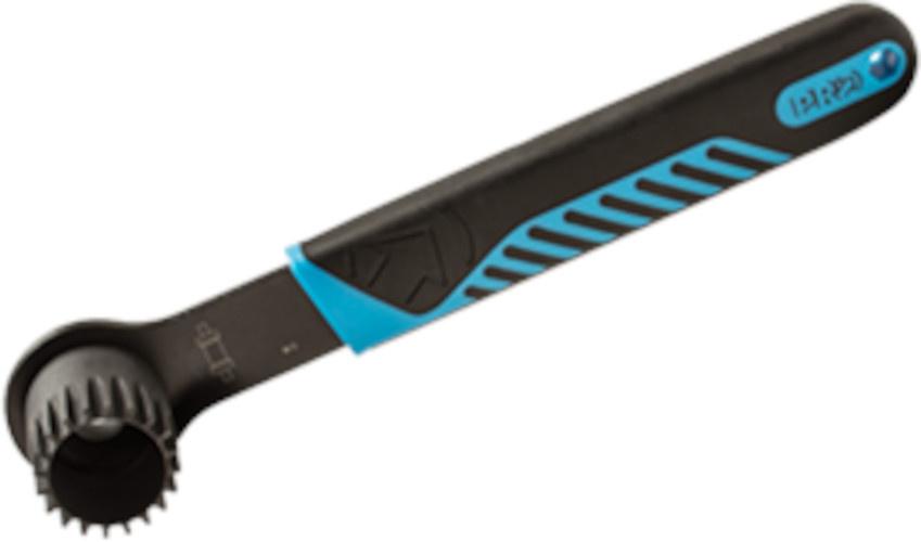 Pro trapassleutel Shimano staal/elastomeer zwart/blauw