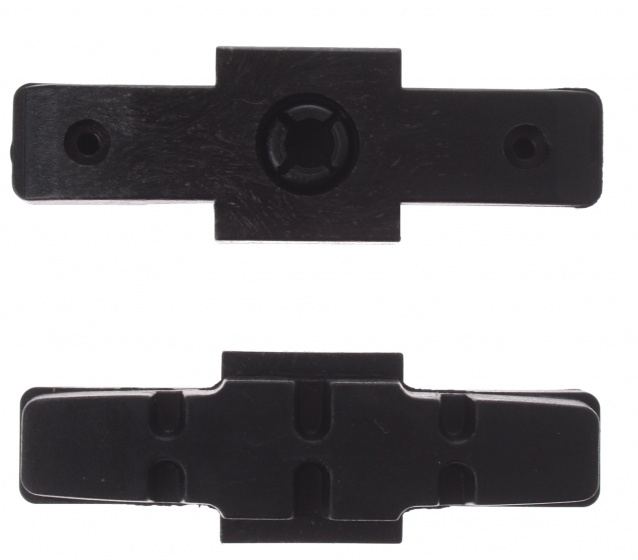 Promax remblokrubbers hydraulisch 51 x 17 mm zwart 2 stuks