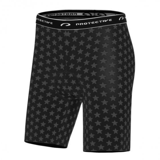 Protective fietsbroek P Meteor heren polyester zwart maat XL