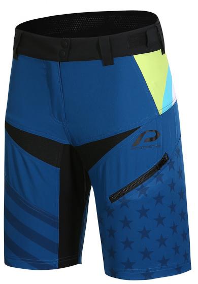 Protective fietsbroek P Sweet Jane dames polyester blauw mt 38