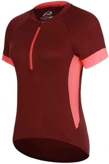 Protective fietsshirt P Heart dames polyester rood maat 36