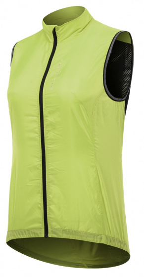 Protective fietsjack P Ride dames polyester lime maat 36