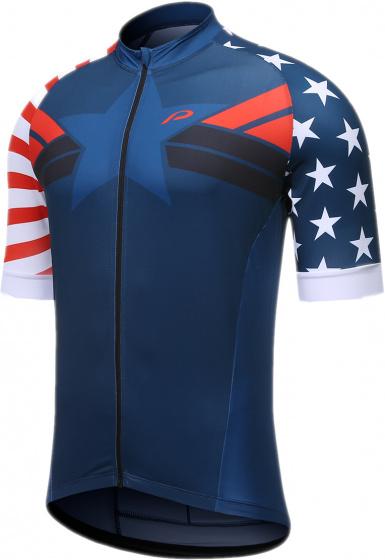 Protective fietsshirt P Meteor heren polyester donkerblauw mt 5XL
