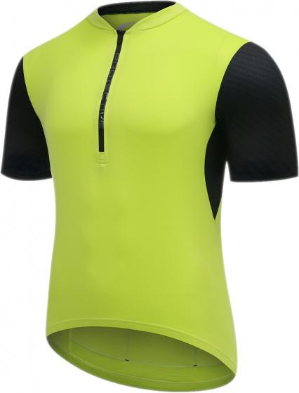 Protective fietsshirt P Move heren polyester lime/zwart mt 4XL