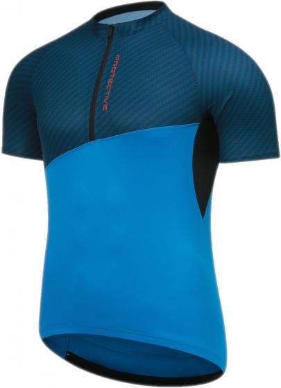 Protective fietsshirt P So High heren polyester blauw mt 4XL