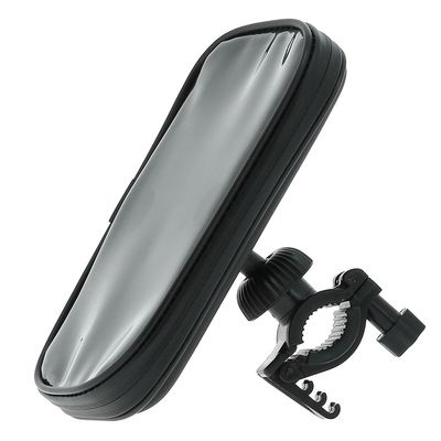 Pulse smartphonehouder voor de fiets kunststof zwart maat XL