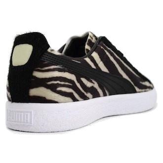 Pumas Costumes Clyde Sneakers Dames Beige / Marron CD3cr5C