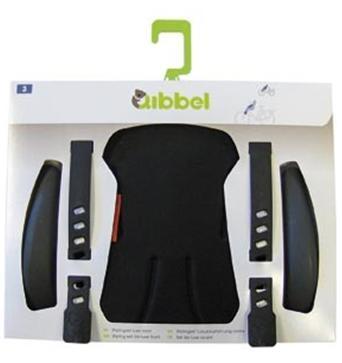 Qibbel Stylingset Luxe Fietszitje Voor Uni Black