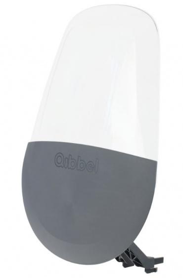 Qibbel windscherm Air voorzitje junior transparant/grijs