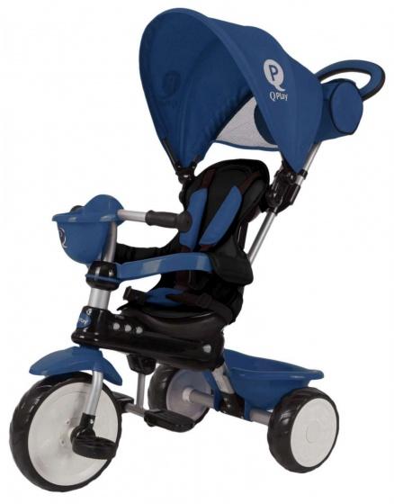 QPlay Comfort 4 in 1 driewieler Junior Blauw