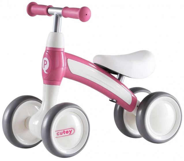 QPlay Cutey Ride On Junior Roze/Wit