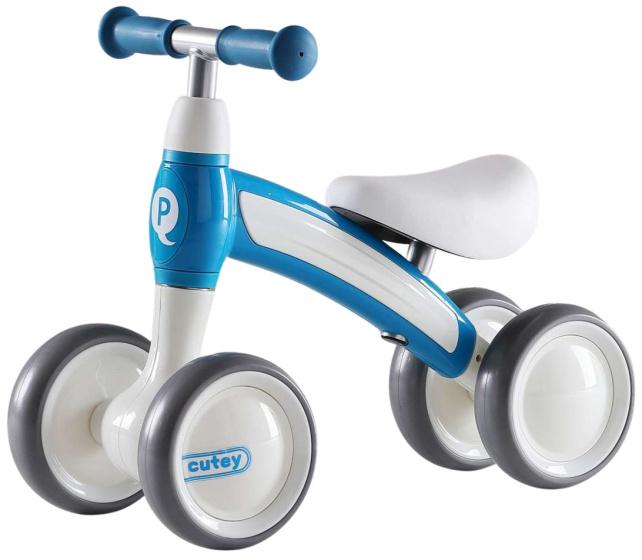QPlay Cutey Ride On Junior Wit/Blauw