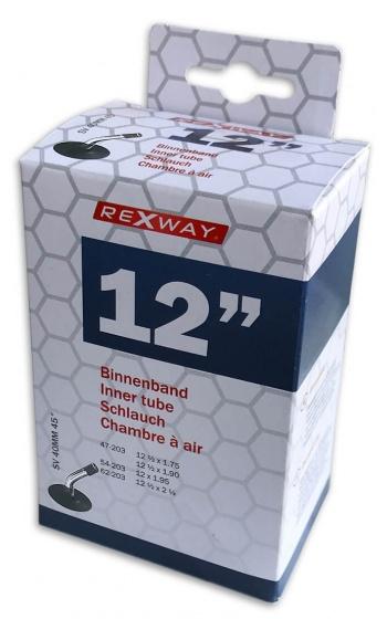 Rexway binnenband 12 inch (47/62 203) AV 40 mm zwart