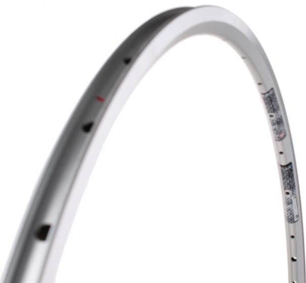 Rigida velg Flyer 28 inch 32G aluminium zilver