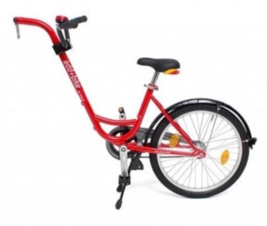 Roland Aanhangfiets Add+Bike 20 Inch 42 cm Junior Rood
