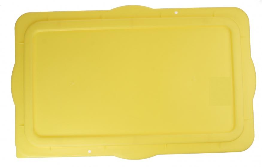 Roland deksel voor fietskarbak Big Boy 80 x 50 cm geel