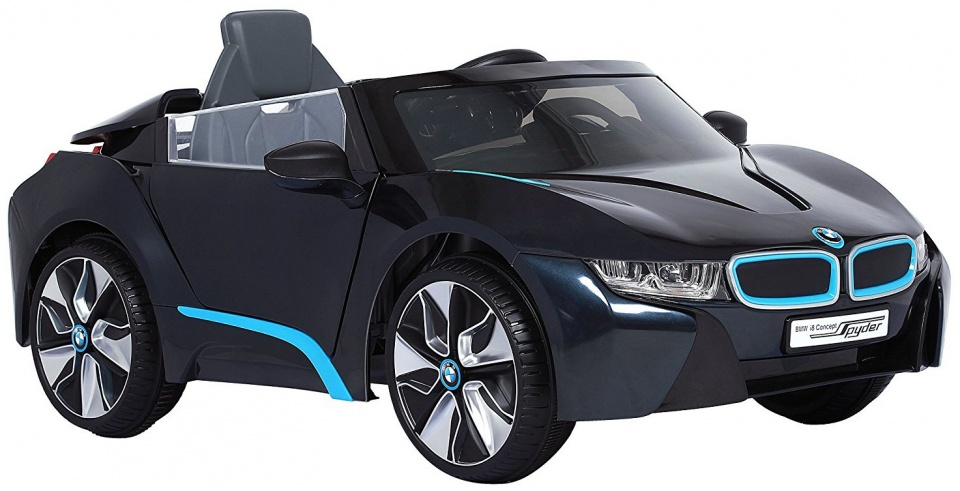 Rollplay BMW I8 Spyder Battery Vehicle 6 Volt Black