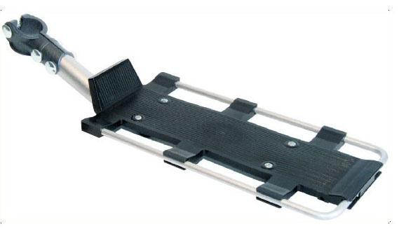 Roto Bagagedrager Piuma 24 28 Inch Aluminium Zwart-Zilver