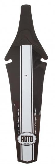 Roto achterspatbord 37 cm zwart