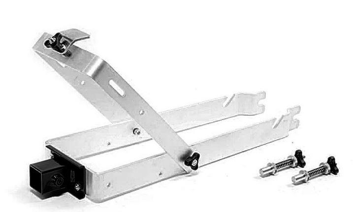 Roto wielstandaard aluminium