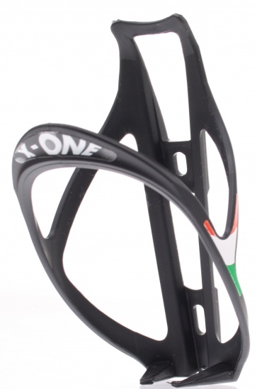 Roto X One Kunststof Bidonhouder 25 Gram Zwart