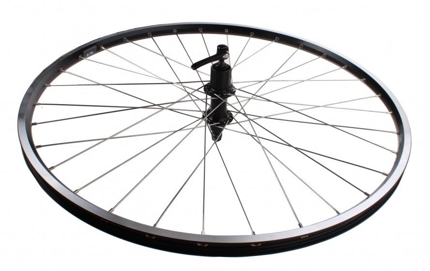 Ryde achterwiel ZAC19 28 inch velgrem aluminium zwart